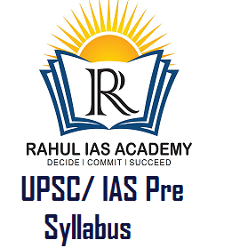 UPSC/ IAS Pre Syllabus